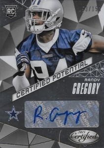 2015 Panini Certified Football Potential Autograph