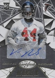 2015 Panini Certified Football Signatures Vic Beasley