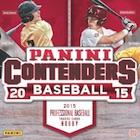2015 Panini Contenders Baseball Cards