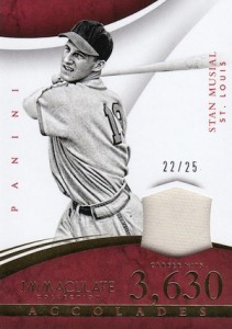 2015 Panini Immaculate Baseball Accolades