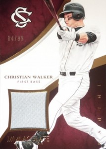 2015 Panini Immaculate Baseball Collegiate Materials