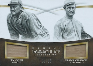 2015 Panini Immaculate Baseball Dual Players