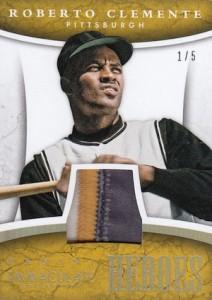 2015 Panini Immaculate Baseball Heroes Prime