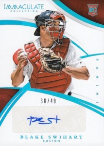 2015 Panini Immaculate Baseball Rookie Autos Blue