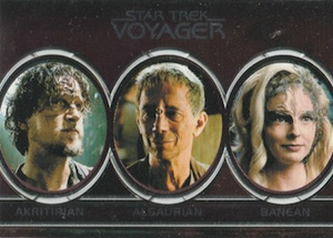 2015 Rittenhouse Star Trek Voyager Heroes and Villains Aliens