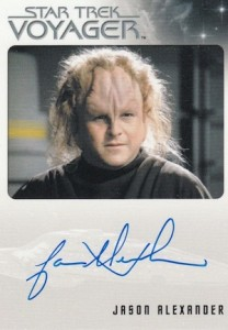 2015 Rittenhouse Star Trek Voyager- Heroes and Villains Autograph Jason Alexander