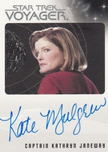 2015 Rittenhouse Star Trek Voyager- Heroes and Villains Autograph Mulgrew
