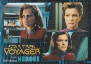 2015 Rittenhouse Star Trek Voyager: Heroes and Villains Trading Cards 21