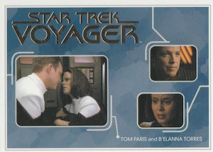 2015 Rittenhouse Star Trek Voyager Heroes and Villains Relationships