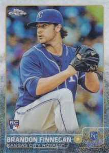 2015 Topps Chrome Baseball Base 195 Brandon Finnegan