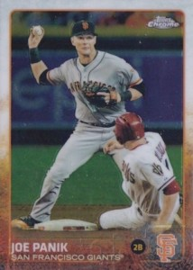 2015 Topps Chrome Baseball Base 27 Joe Panik