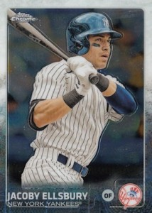 2015 Topps Chrome Baseball Base 49 Jacob Ellsbury