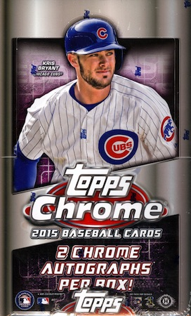 2015 Topps Chrome Baseball Cards 28