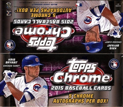 2015 Topps Chrome Baseball Cards 39