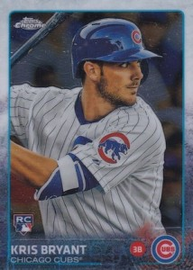 2015 Topps Chrome Baseball Kris Bryant RC