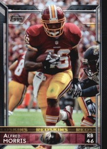 2015 Topps Football Base Alfred Morris