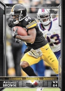 2015 Topps Football Base Antonio Brown