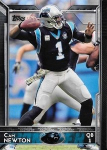2015 Topps Football Base Cam Newton