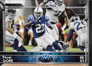 2015 Topps Football Base Frank Gore
