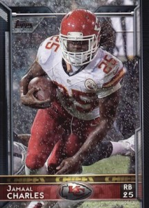 2015 Topps Football Base Jamaal Charles