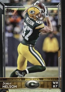 2015 Topps Football Base Jordy Nelson