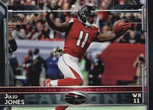 2015 Topps Football Base Julio jones