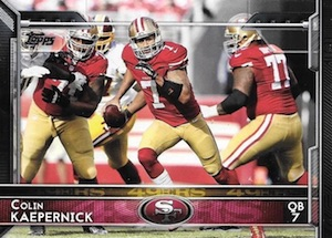 2015 Topps Football Base Kaepernick