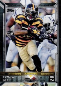 2015 Topps Football Base LeVeon Bell