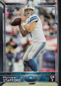 2015 Topps Football Base Matthew Stafford