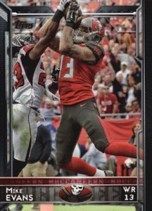 2015 Topps Football Base Mike Evans
