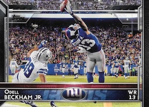 2015 Topps Football Base Odell Beckham
