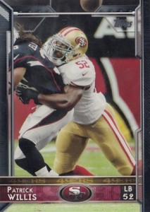 2015 Topps Football Base Patrick Willis