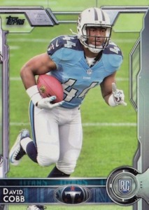 2015 Topps Football Base RC David Cobb