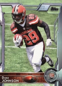 2015 Topps Football Base RC Duke Johnson