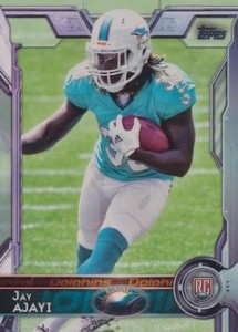 2015 Topps Football Base RC Jay Ajayi