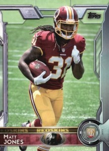 2015 Topps Football Base RC Matt Jones