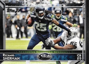 2015 Topps Football Base Richard Sherman