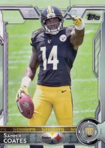 2015 Topps Football Sammie Coates Variation