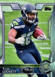 2015 Topps Football Tyler Lockett Base RC