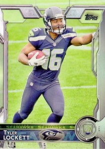2015 Topps Football Tyler Lockett Variation RC