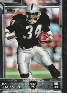 2015 Topps Football Variation Bo Jackson