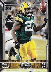 2015 Topps Football Variation Eddie Lacy