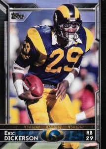 2015 Topps Football Variation Eric Dickerson