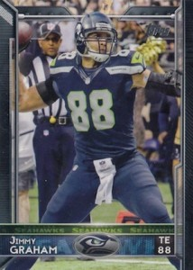 2015 Topps Football Variation Jimmy Graham