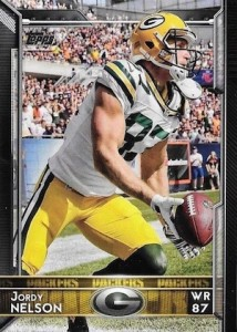 2015 Topps Football Variation Jordy Nelson