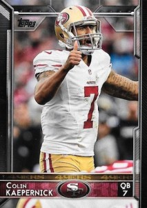 2015 Topps Football Variation Kaepernick