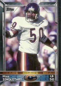 2015 Topps Football Variation Mike Singletary