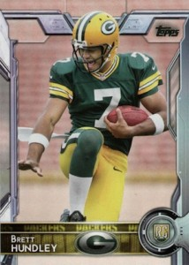 2015 Topps Football Variation RC Brett Hundley