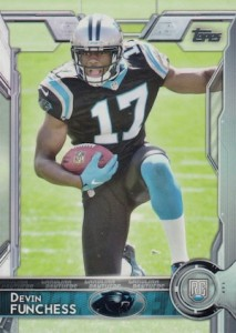 2015 Topps Football Variation RC Devin Funchess