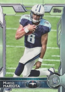 2015 Topps Football Variation RC Marcus Mariota